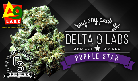 Delta 9 Labs Purple Star Promotion